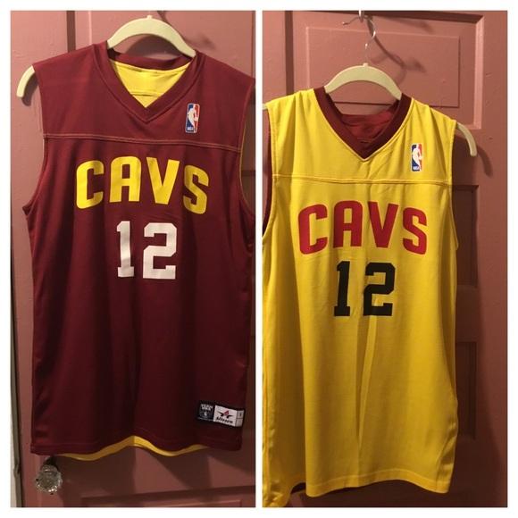 quality design 888ab a3bda NBA REVERSIBLE CAVALIERS #12 - DAVID NWABA JERSEY